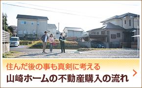 山崎ホームの不動産購入の流れ